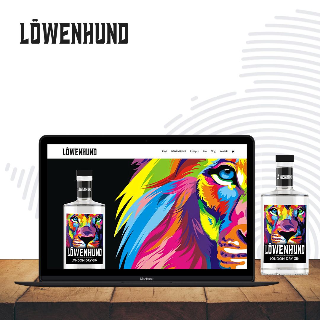 Löwenhund Gin Website